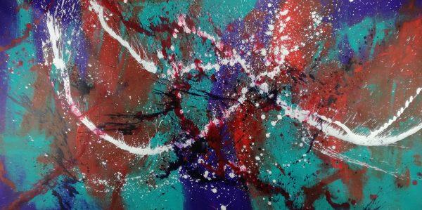 quadro astratto c382 600x299 - quadro astratto per soggiorno 120x60 c382