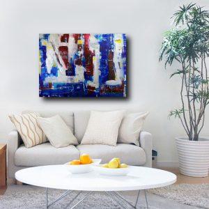 quadro-su-tela-astratto-blu-c371