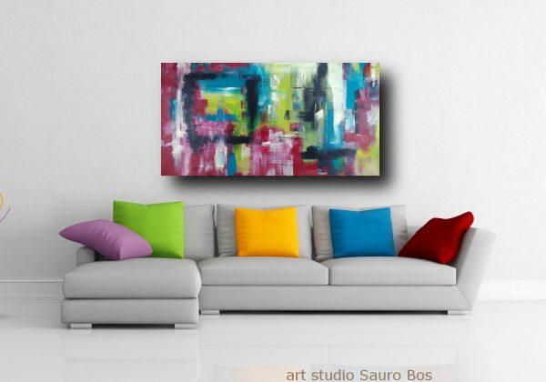 quadro su tela colorato astratto c375 600x420 - dipinto astratto su tela grandi 120x60