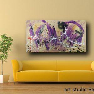 dipinto astratto su tela moderno c386 300x300 - quadro per arredamento moderno 150x80