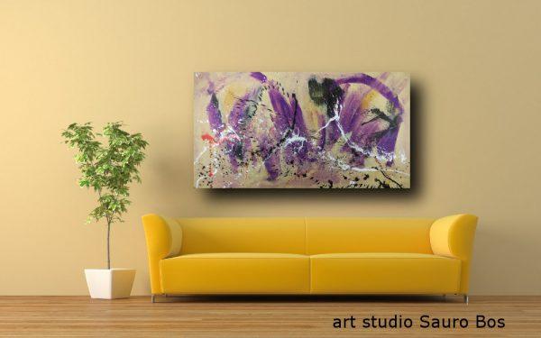 dipinto astratto su tela moderno c386 600x375 - quadro per arredamento moderno 150x80