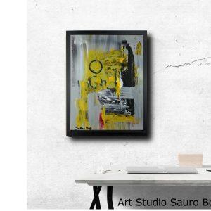 quadro astratto su tela moderno za008 300x300 - Quadri Astratti Verticale