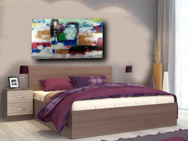 quadro astratto su tela moderno c389 600x451 - quadro contemporaneo moderno astratto 180x100