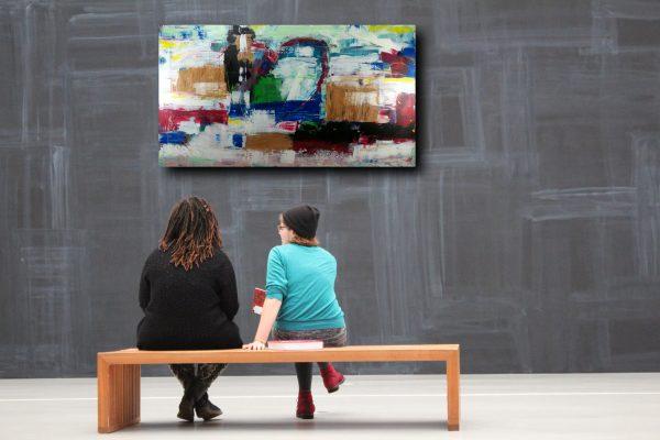 quadro soggiorno arerdamento moderno c389 600x400 - quadro contemporaneo moderno astratto 180x100