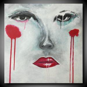 quadro-donna-viso-moderno-c393
