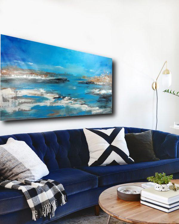 quadro per soggiorno c400 600x750 - quadro per soggiorno paesaggio moderno 150x80
