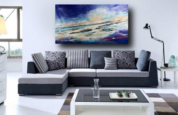 quadro per soggiorno moderno c397 600x388 - quadro paesaggio per soggiorno moderno 150x80