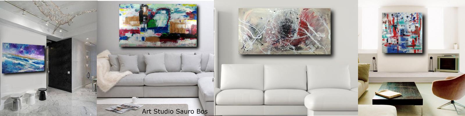quadri per soggiorno moderno - QUADRI ASTRATTI D'AUTORE