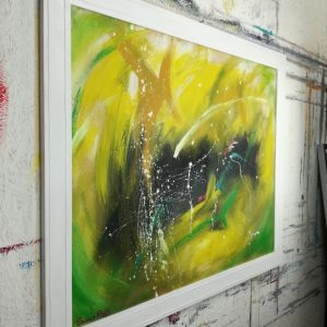 quadro astratto c413 dx 300x300 - quadro astratto moderno con cornice-100x70