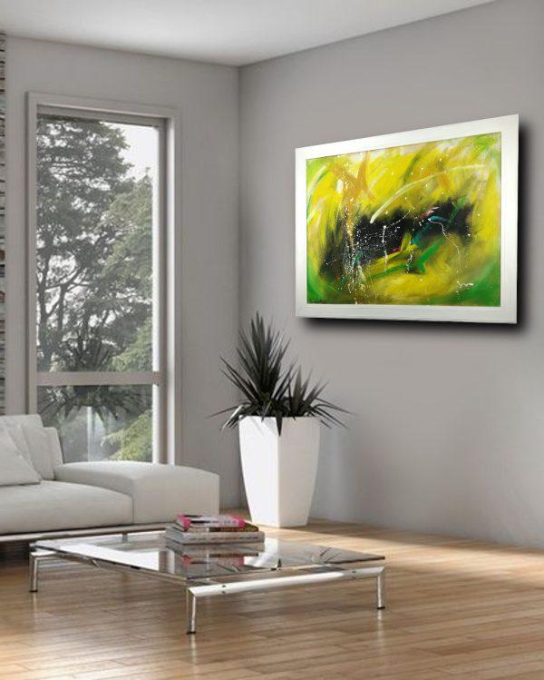 quadro con cornice su mdf c413 600x749 - quadro astratto moderno con cornice-100x70