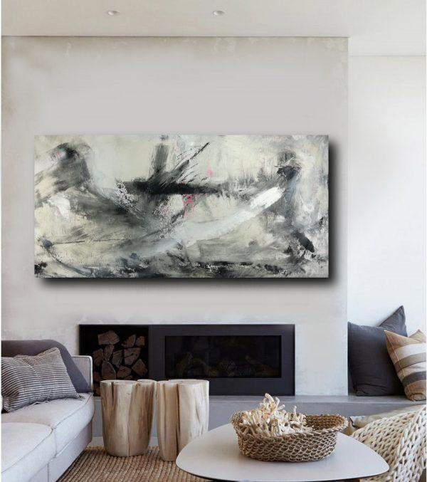 quadro-su-tela-astratto-materico-c402