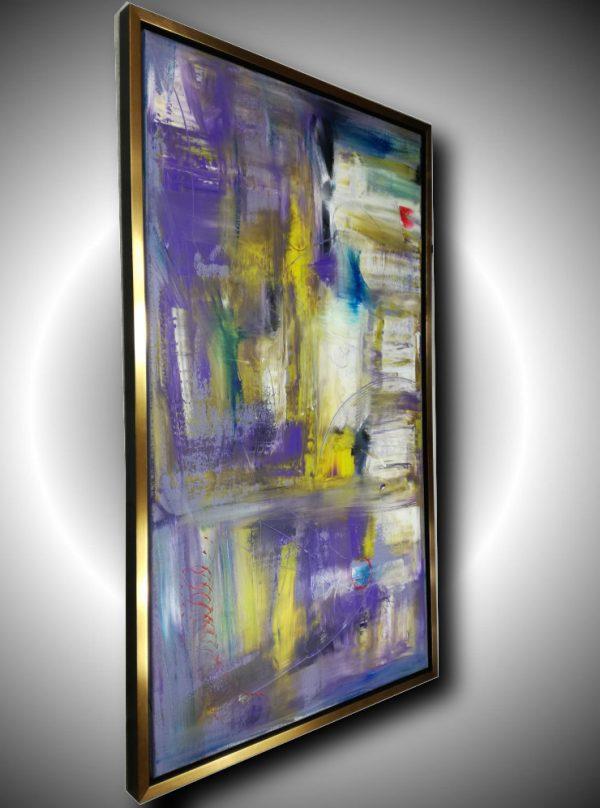 quadro-verticale-su-cornice-dorata-c412