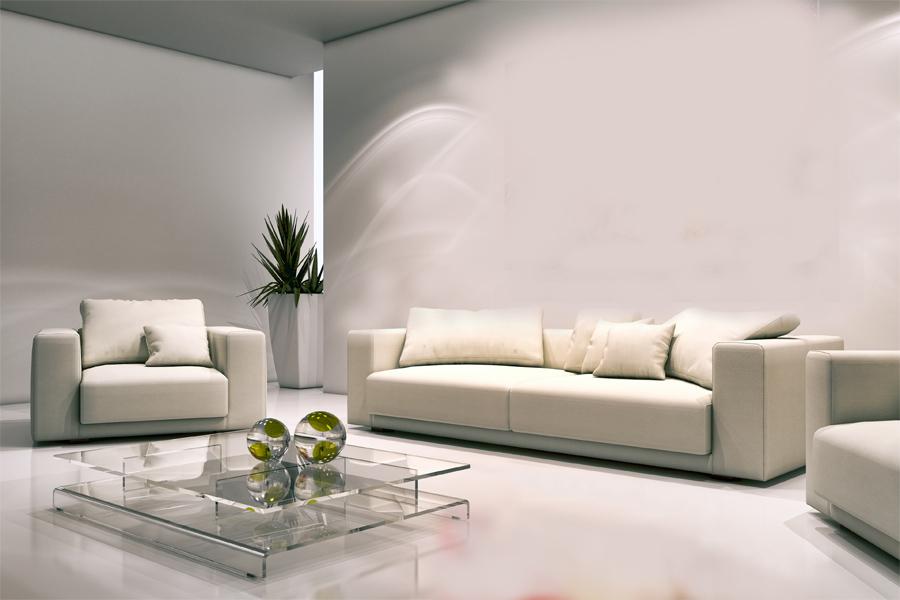 living3 - quadro fatto a mano su tela con cornice argento 120x70