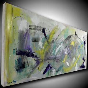 quadro astratto per soggiorno moderno su tela c417 300x300 - quadro per soggiorno  moderno 150x65