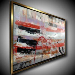 quadro c429 300x300 - dipinto su tela con cornice oro 120x70