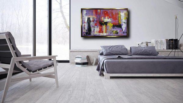 quadro-per-camera da letto con cornice-c427