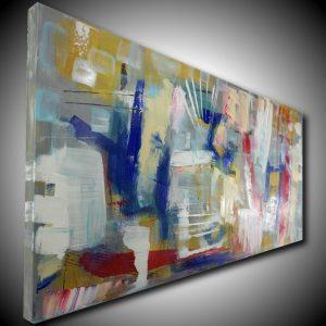 quadro astratto moderno dipinto a mano c452 300x300 - quadro per soggiorno astratto con cornice oro 120x70