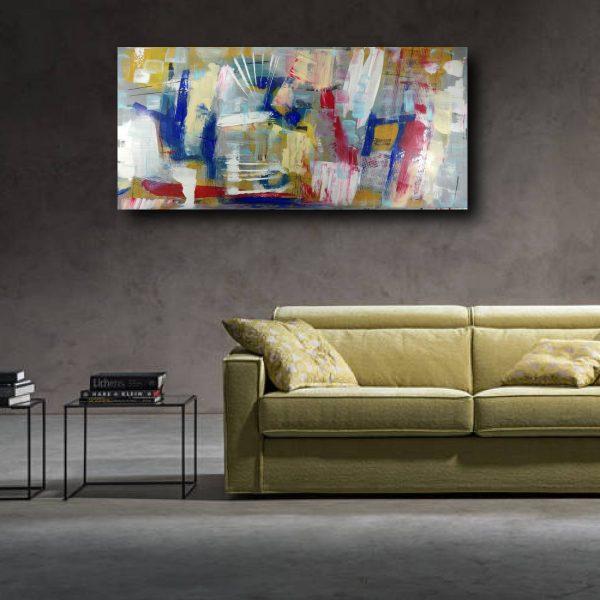 quadro astratto su tela c452 600x600 - dipinto a mano astratto per soggiorno 120x60