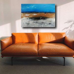 quadro per soggiorno astratto 300x300 - Quadri Astratti Orizzontali