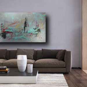 quadro astratto grande moderno astratto c460 300x300 - Quadri Astratti Orizzontali