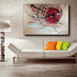 quadro astratto su tela c463 300x300 - Quadri Astratti Orizzontali