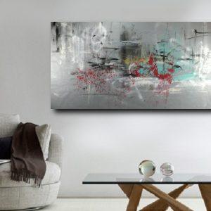 quadro grande astratto c458 300x300 - quadro su tela  120x80 astratto