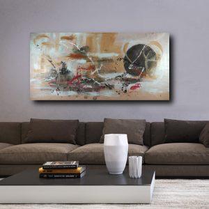 quadro moderno astratto grande c462 300x300 - Quadri Astratti Orizzontali