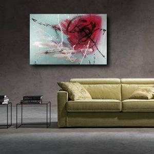 quadro per soggiorno astratto c461 300x300 - Quadri Astratti Orizzontali