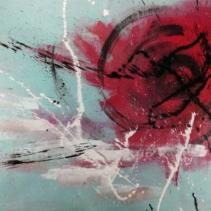 quadro su tela astratto c461 300x300 - Quadri Astratti Orizzontali