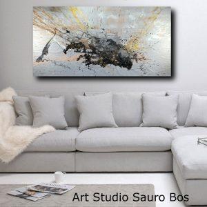 quadro su tela astratto grandi dimensioni c465 300x300 - Quadri Astratti Orizzontali