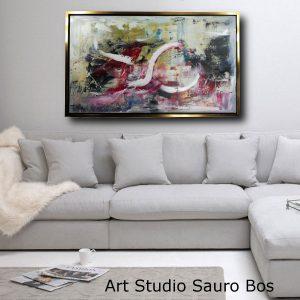 dipinto a mano per soggiorno c473 300x300 - quadro per arerdamento moderno 200x100