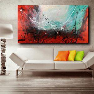 quadro astratto c468 300x300 - tele moderne