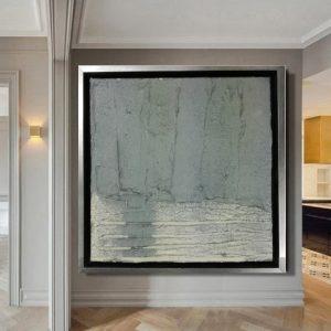quadro grande astratto materico 300x300 - tele moderne