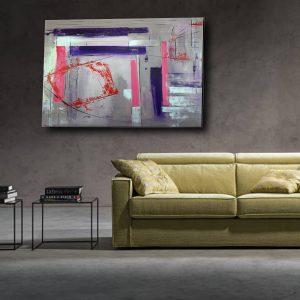 quadro su tela a31 300x300 - Quadri Astratti Orizzontali