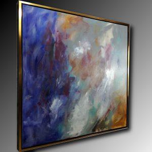 dipinto astratto su tela con cornice c481 300x300 - tele moderne