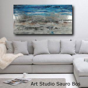 quadro argento paesaggio moderno c491 300x300 - tele moderne