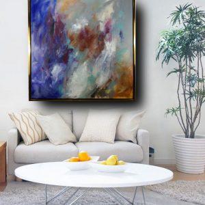 quadro astratto moderno con cornice c481 300x300 - tele moderne