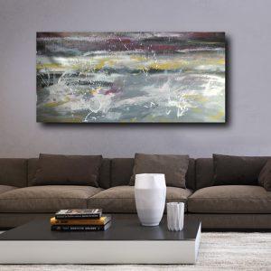 quadro grandi dimensioni per soggiorno astratto c494 300x300 - Quadri Astratti Orizzontali