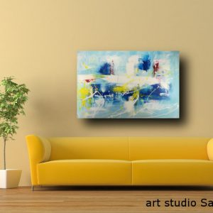 quadro moderno astratto c489 300x300 - AUTHOR'S ABSTRACT PAINTINGS
