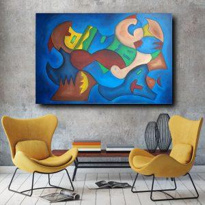 quadro su tela c487 300x300 - tele moderne