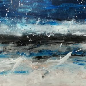 quadro astratto paesaggio c498 300x300 - quadri moderni astratti dipinti a mano