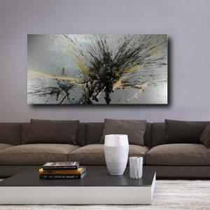 quadro grande astratto c504 300x300 - quadro per arerdamento moderno 200x100
