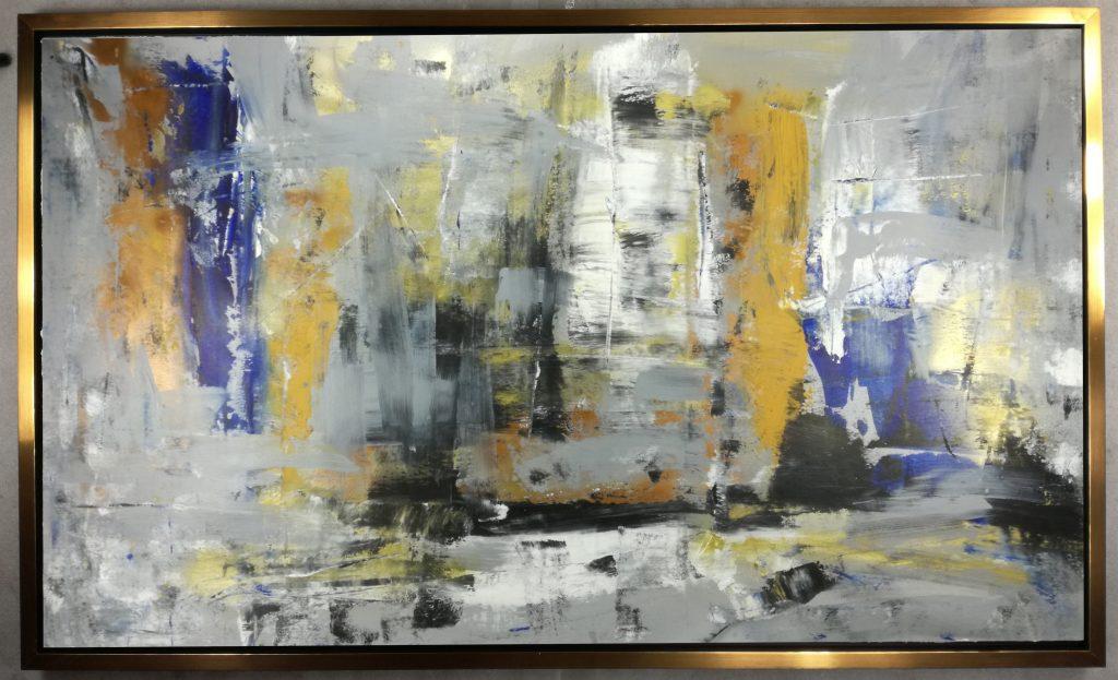 dipinto su tela 120x80 per soggiorno moderno su tela