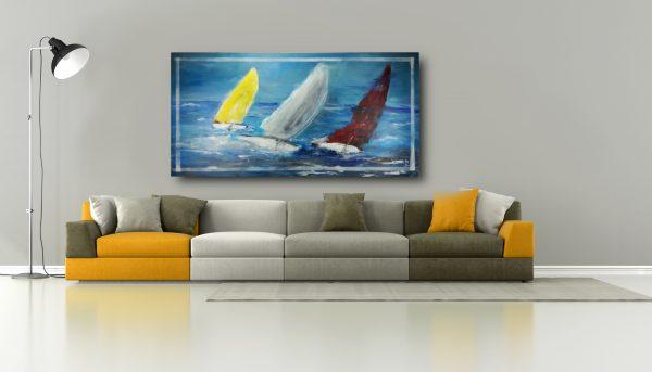 quadro-dipinto-a-mano-barche-c540
