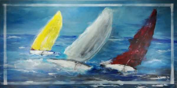 quadro-moderno-con-barche-c540