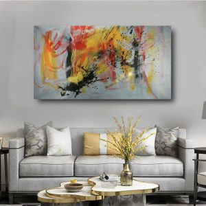 quadro per soggiorno moderno c542 300x300 - AUTHOR'S ABSTRACT PAINTINGS