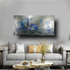 astratto dipinto a mano per soggiorno c552 300x300 - QUADRI ASTRATTI D'AUTORE