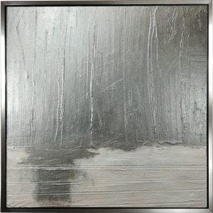 astratto moderno su tela con cornice argento c553 300x300 - QUADRI ASTRATTI D'AUTORE
