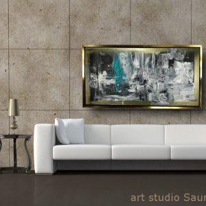 quadro astratto con cornice c558 300x300 - QUADRI ASTRATTI D'AUTORE