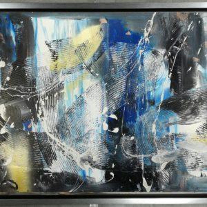 quadro astratto con cornice c559 300x300 - QUADRI ASTRATTI D'AUTORE